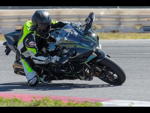 2015 Kawasaki Ninja H2 Video Review