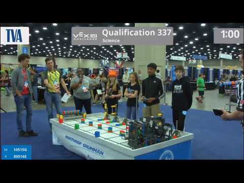 Team 80516E 2018 Worlds Qualification Match 337 – Beth & Hannah