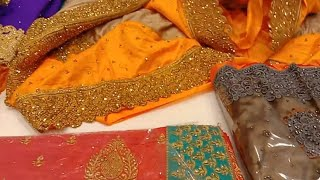 Pothys Latest Hand Work Designer Sarees/Buy One Get One Offer/Latest Sana Silk, Chiffon Fancy Sarees