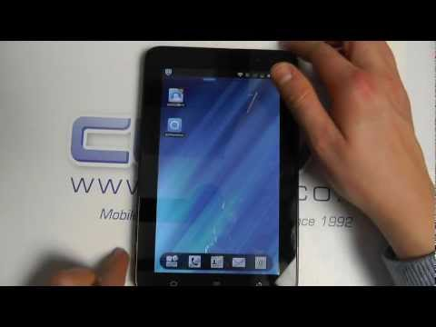 ZTE Light Tab 2 V9A (3G Android Tablet) Hands On