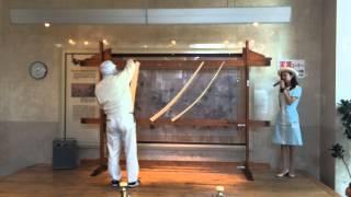 揖保の糸ソーメンの工程説明