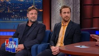 <b>Ryan Gosling </b>and Russell Crowe Have Gotten Very Close
