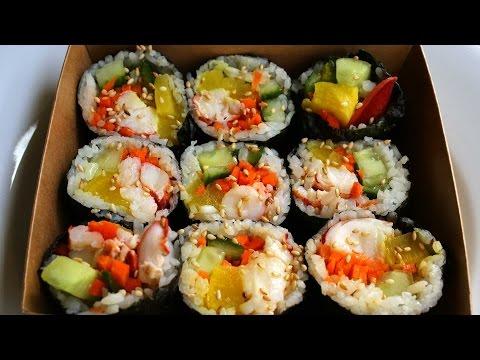 Kimbap with Lobster (Gimbap:랍스터 김밥)