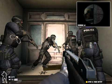 Gameplay de SWAT 4 Gold Edition