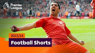 Staggering Goals | Premier League 2013/14 | Suarez, Ramsey, Silva