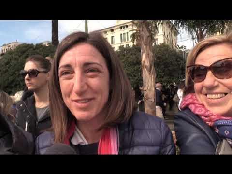 CIPRESSA TRIONFA AI CARRI IN FIORE DI SANREMO