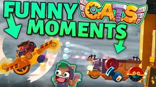 C.A.T.S FUNNY MOMENTS & EPIC FIGHTS - ANNIVERSARY Crash Arena Turbo Stars #Cats1Year