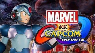 MegaManX is HERE! Now lets FIGHT! - [Marvel VS Capcom Infinite Story #1]
