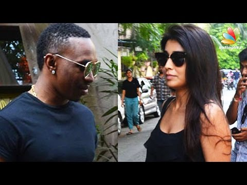 Shriya-Saran-Dwayne-Bravo-caught-on-a-lunch-date-Hot-Tamil-Cinema-News