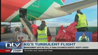 The management of national flag carrier, Kenya Airways, maintains