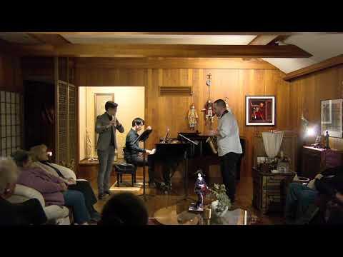 The Additive Color Ensemble  Ben Justis: Technipoeia House concert in Kansas City