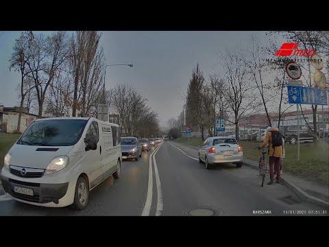 potracenie-rowerzysty-ul-dzwigowa-warszawa-ku-przestrodze