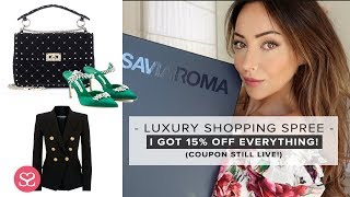 Gambar cover I WENT ON A LUXURY SHOPPING SPREE... & the discount is still working!   LUXE HAUL   Sophie Shohet