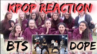 BTS 방탄소년단 Dope Reaction [Classmates Edition]