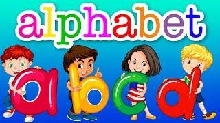 Learn The Alphabet A, B, C, D, E, F, G, H, I