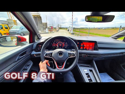 New Volkswagen Golf GTI 2021 Test Drive Review POV