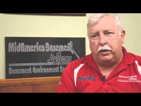 Video by Mickle Communications about MidAmerica Basement Systems and the people who work there.
