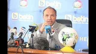 2019 Afcon: Migne names provisional Stars squad - VIDEO