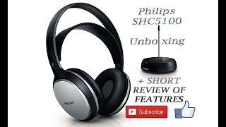 Phillips SHC5100 Unboxing and short review of features ENGLISH