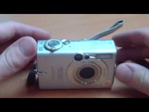 Canon IXUS 430 - Bedienungsanleitung Testbericht digitale Kompaktkamera