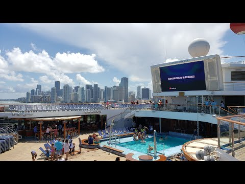 2019 Carnival Conquest Cruise Embarkation