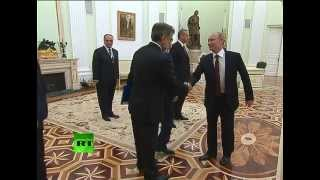 Путин встретился с Реджепом Тайипом Эрдоганом