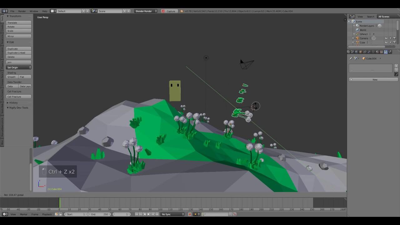 blender game engine tutorial part 1