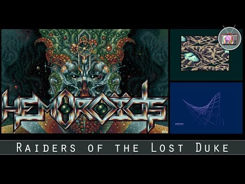 Raiders of the Lost Duke by Hemoroids, 2017 | Atari ST Demo