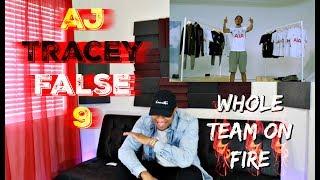 LETTTS GO🔥⚽️| AJ Tracey   False 9 Official Video UK RapHip Hop Reaction