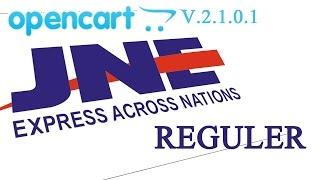 JNE Reguler Untuk Opencart V2101