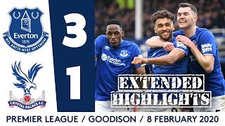 INCREDIBLE CLIMB UNDER ANCELOTTI CONTINUES! | EXTENDED HIGHLIGHTS: EVERTON 3-1 CRYSTAL PALACE
