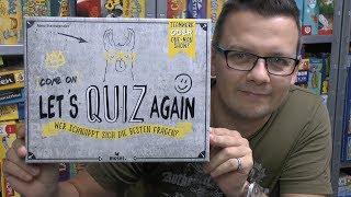 Come on - Let's quiz again (Moses Verlag) - ab 12 Jahre - schnelles Quizspiel!