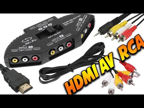 HDMI AV и RCA Кабеля и Адаптеры с AliExpress