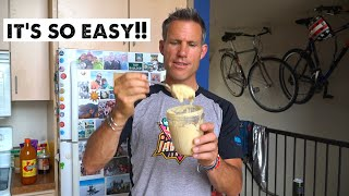 How to Make Tasty Hummus from Scratch (Healthy Athlete Food)