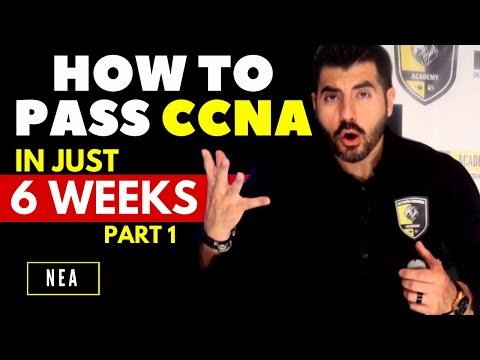 How to pass the Cisco CCNA 200-301 in just 6 weeks Six week ...