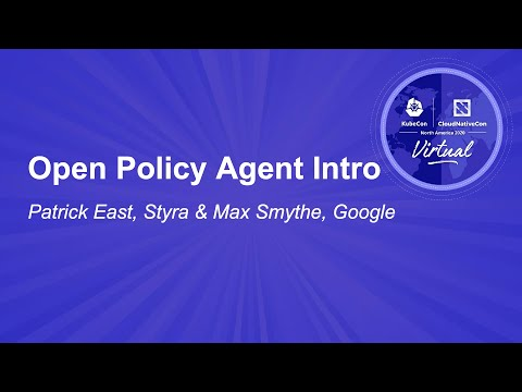Image thumbnail for talk Open Policy Agent Intro