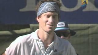 John McEnroe Is Disqualified | Australian Open 1990