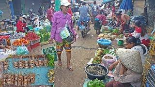 ลุยฝนในลาวใต้ EP7:ตลาดเช้าเมืองปากเซ  แขวงจำปาสัก(Morning fresh market in Pakse,Champasak,Laos)