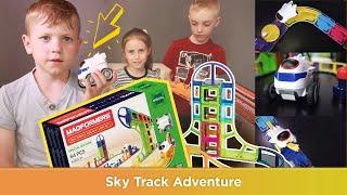-30% на товар месяца: Magformers Sky Track Adventure Set!