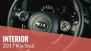The 2017 Kia Soul – INTERIOR
