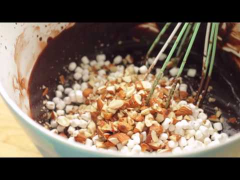 Rocky Road Ice Cream 5 Ingredients ONLY