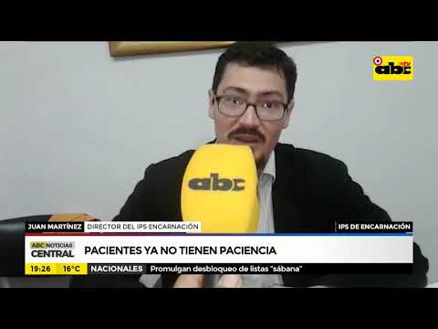 IPS de Encarnación: Pacientes ya no tienen paciencia