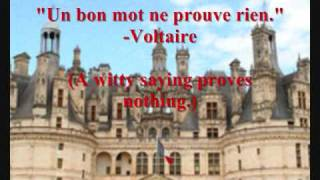 Collection Of French Quotes