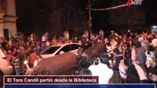 preview picture of video 'Toro Candil: Tradiciones de San Juan Bautista  Ituzaingó Corrientes 2014'