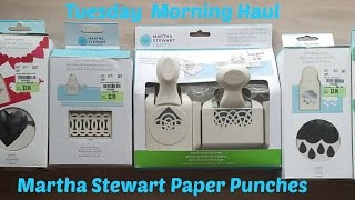 New At Tuesday Morning April 30th | Martha Stewart Punches