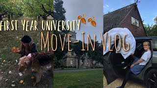 First Year University Move In Vlog! || there were tears...