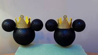 Mickey Mouse Prince Heads For Centerpieces.