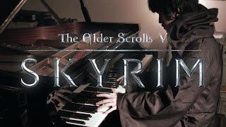 TES V: Skyrim - Dragonborn, Main Theme - Virtuosic Piano Solo | Leiki Ueda