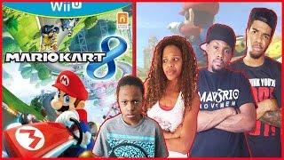 TRYING SOMETHING NEW!! - Family Beatdown I Mario Kart 8 Gameplay