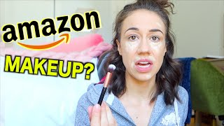 TESTING CHEAP AMAZON MAKEUP PRODUCTS!